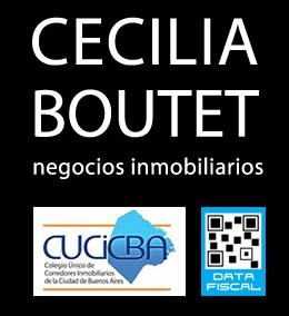 Cecilia Boutet - Negocios Inmobiliarios